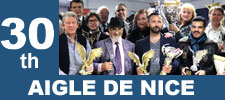 30th Aigle de Nice International 2018