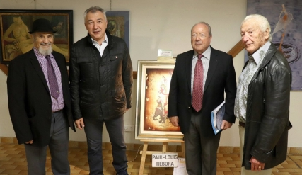 Vernissage du 31ème Aigle de Nice à Saint-Laurent du Var