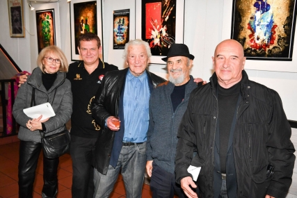 15 novembre2019 - Vernissage du Peintre Paul Louis Rebora